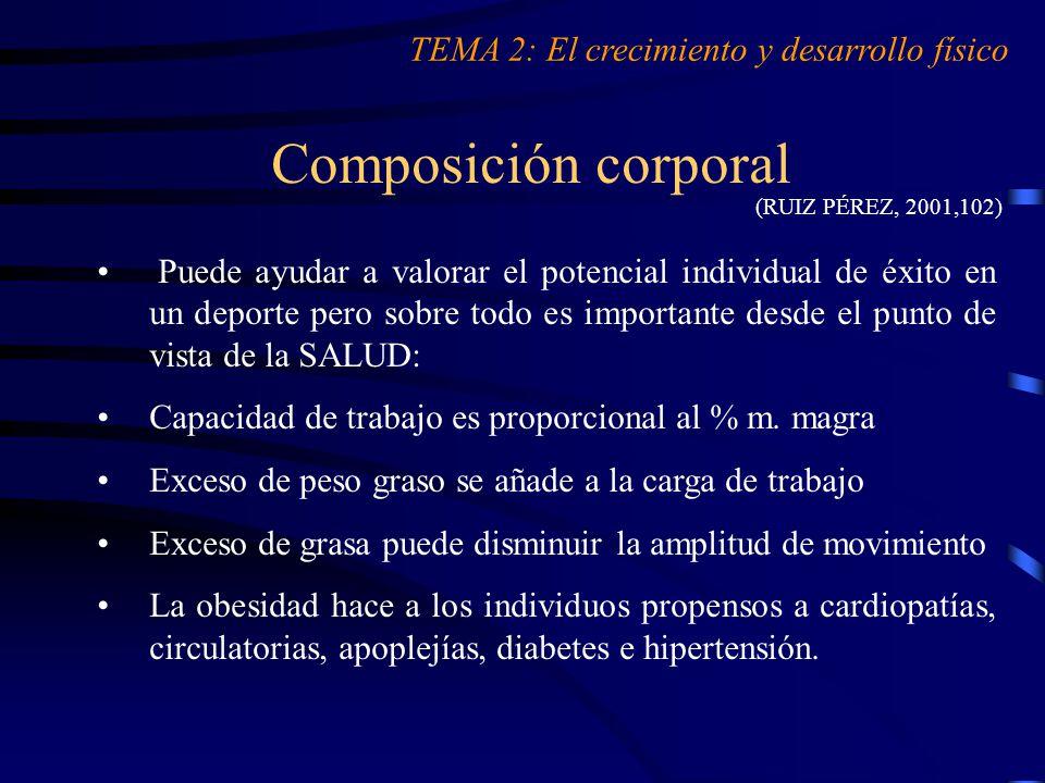 EL ESTUDIO DEL APRENDIZ: El crecimiento y el desarrollo físico - ppt ...