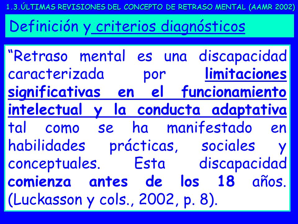 DEFINICION RETRASO MENTAL PDF DOWNLOAD