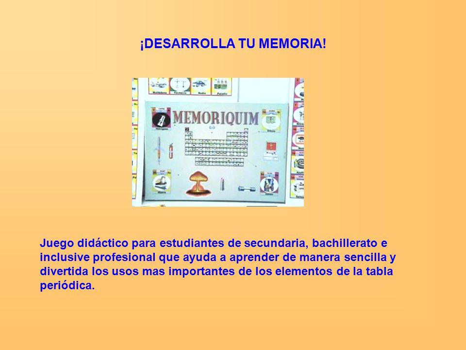 Diviertete con unidad didctica ppt video online descargar 12 desarrolla tu memoria juego didctico urtaz Gallery