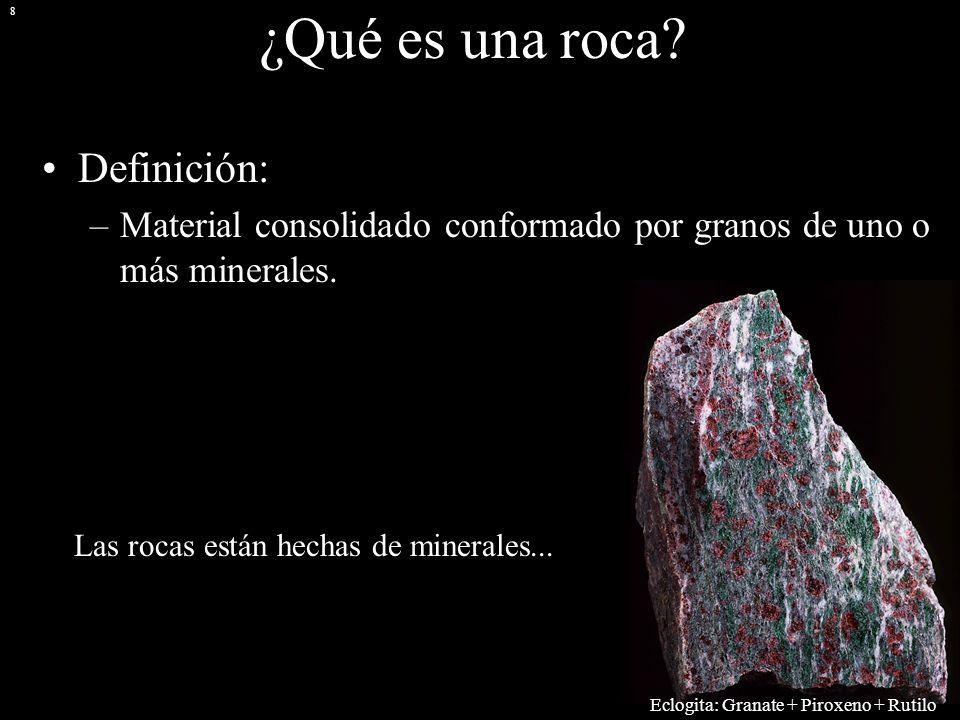 La corteza terrestre i minerales y rocas arturo g mez for Roca definicion