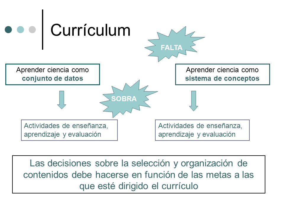 Construcción del currículum y cambio conceptual - ppt descargar