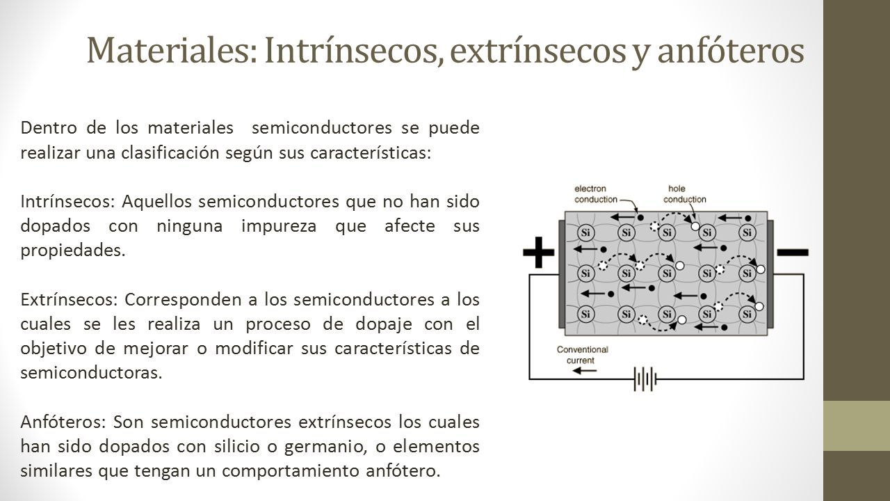 Semiconductores caracteristicas