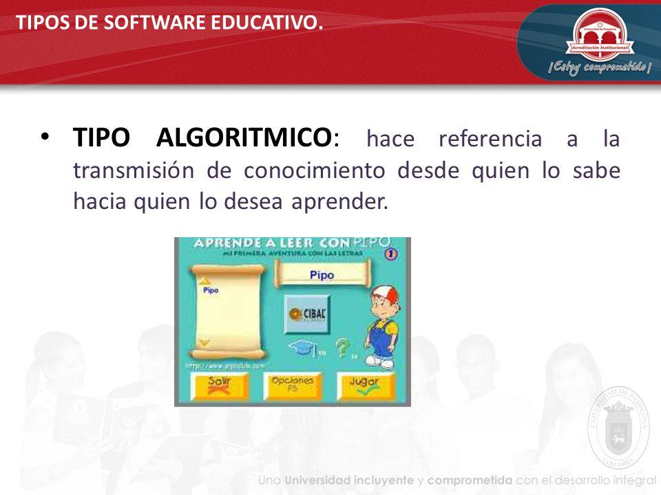 tipos de software educativo ejemplos