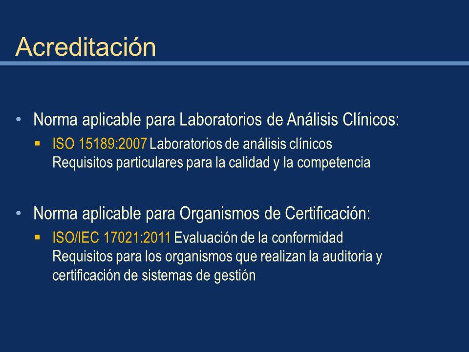CERTIFICACION Y ACREDITACION DE LABORATORIOS CLINICOS - ppt descargar