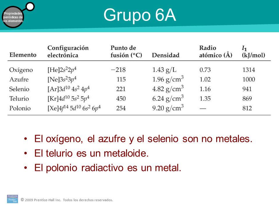 Desarrollo de la tabla peridica los elementos en el mismo grupo por grupo 6a el oxgeno el azufre y el selenio son no metales urtaz Choice Image