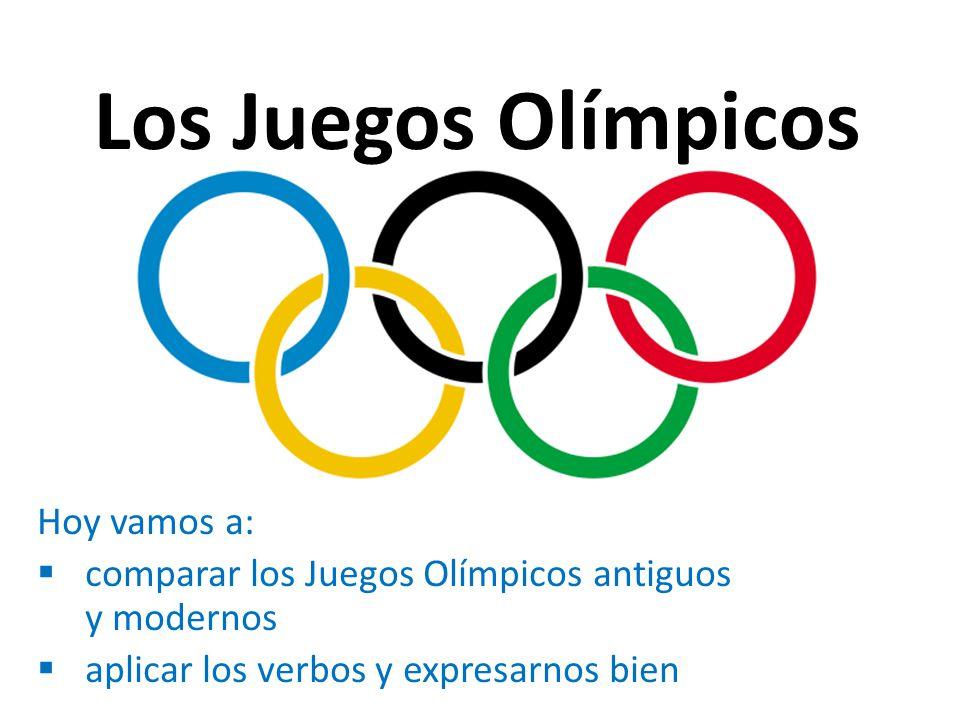 Los Juegos Olimpicos Hoy Vamos A Ppt Descargar