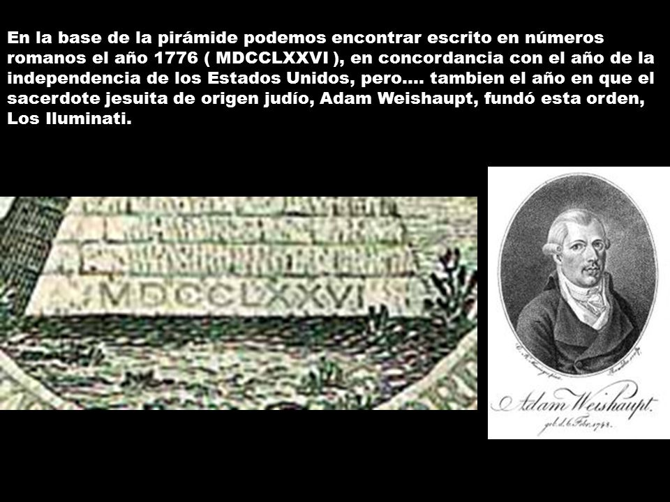 Resultado de imagen para adam weishaupt 1776