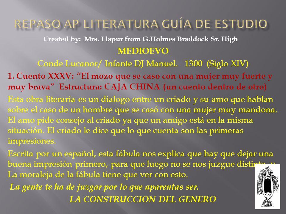 Repaso AP Literatura Guía de Estudio - ppt descargar