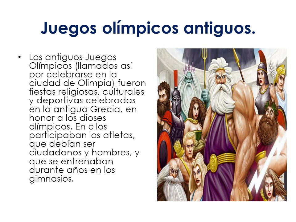 Olimpiadas Ppt Video Online Descargar