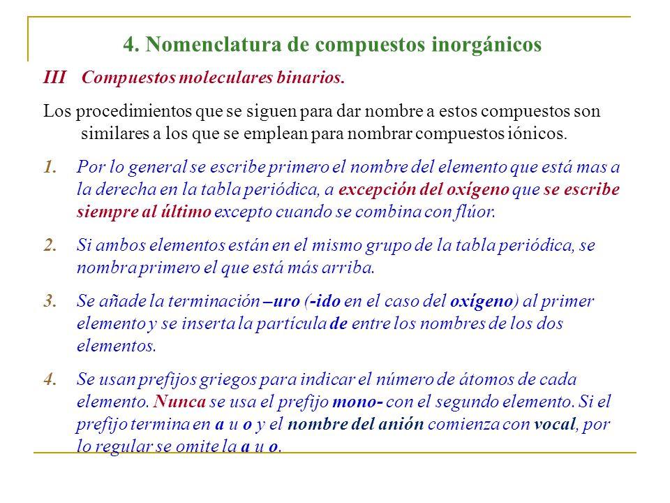 4 nomenclatura de compuestos inorgnicos ppt video online descargar nomenclatura de compuestos inorgnicos urtaz Gallery