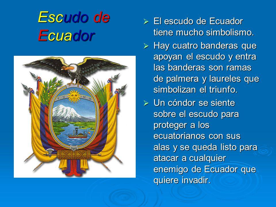 Significado De Estandarte De Ecuador Que Representa El Condor En La Bandera Del Ecuador