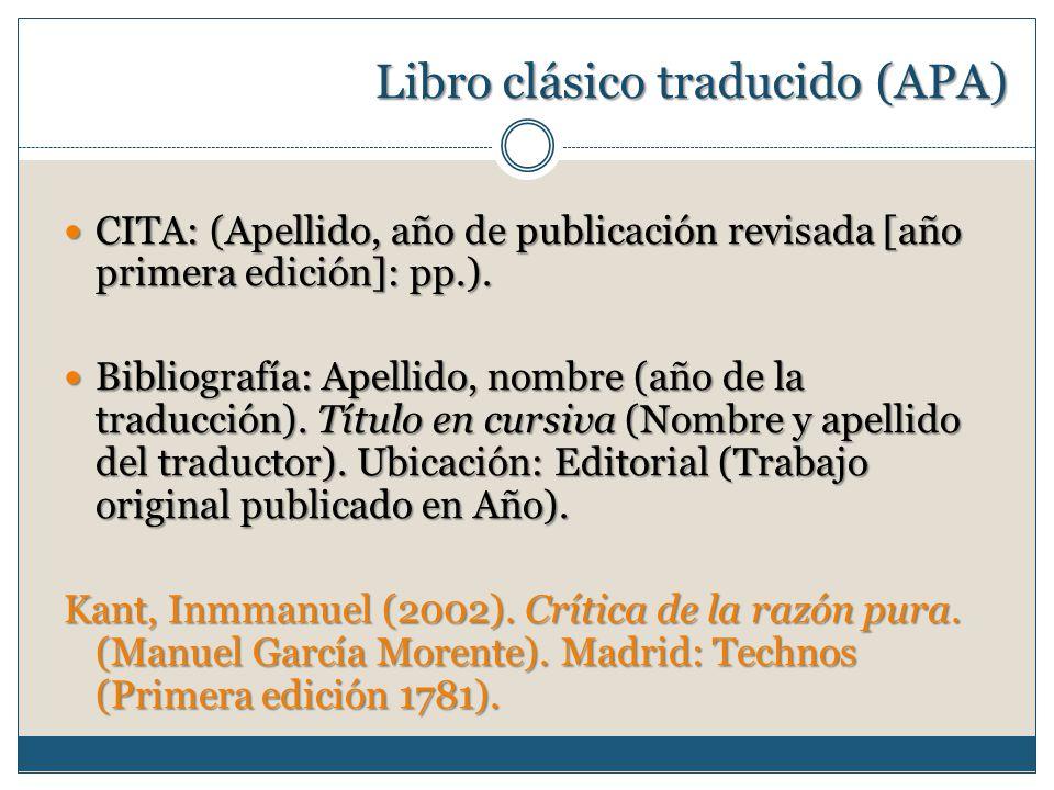 Citación Y Referencias Bibliográficas Ppt Video Online