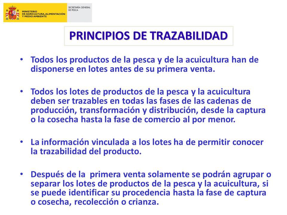 ETIQUETADO Y TRAZABILIDAD DE LOS PRODUCTOS PESQUEROS TRANSFORMADOS ...