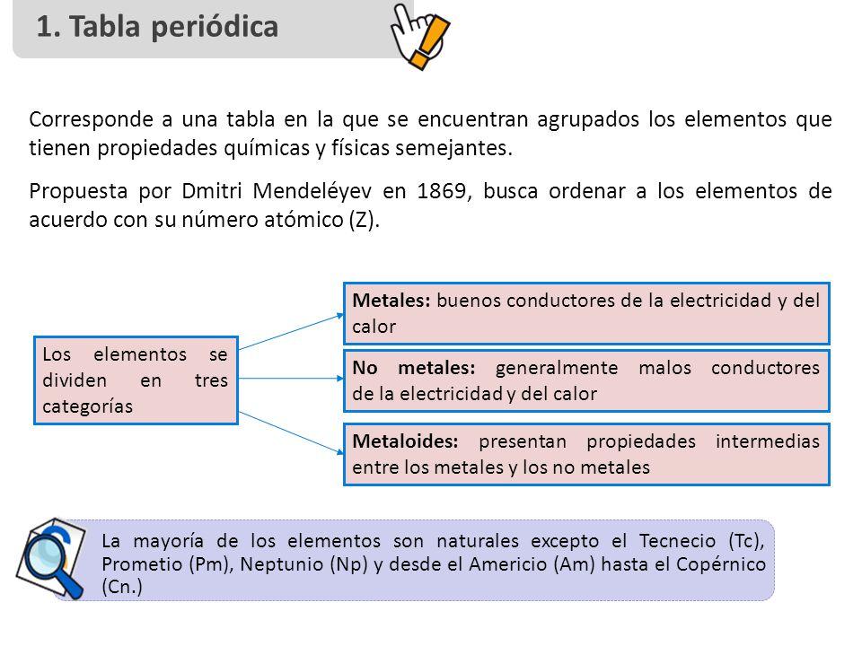 Tabla peridica y propiedades peridicas ppt descargar tabla peridica corresponde a una tabla en la que se encuentran agrupados los elementos urtaz Image collections