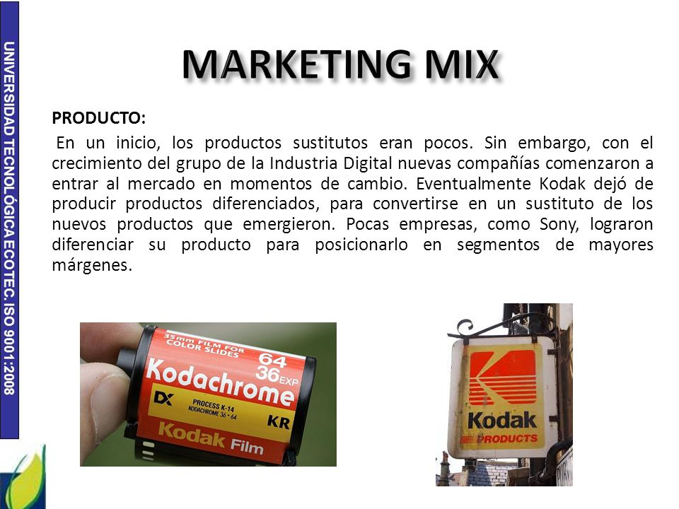 kodak film marketing mix • dividing a market into distinct groups of buyers who have different needs, characteristics, or behaviors, and who might require separate products or marketing programs market segmentation • a group of consumers who respond in a similar way to a given set of marketing efforts market segment 2 - 34.