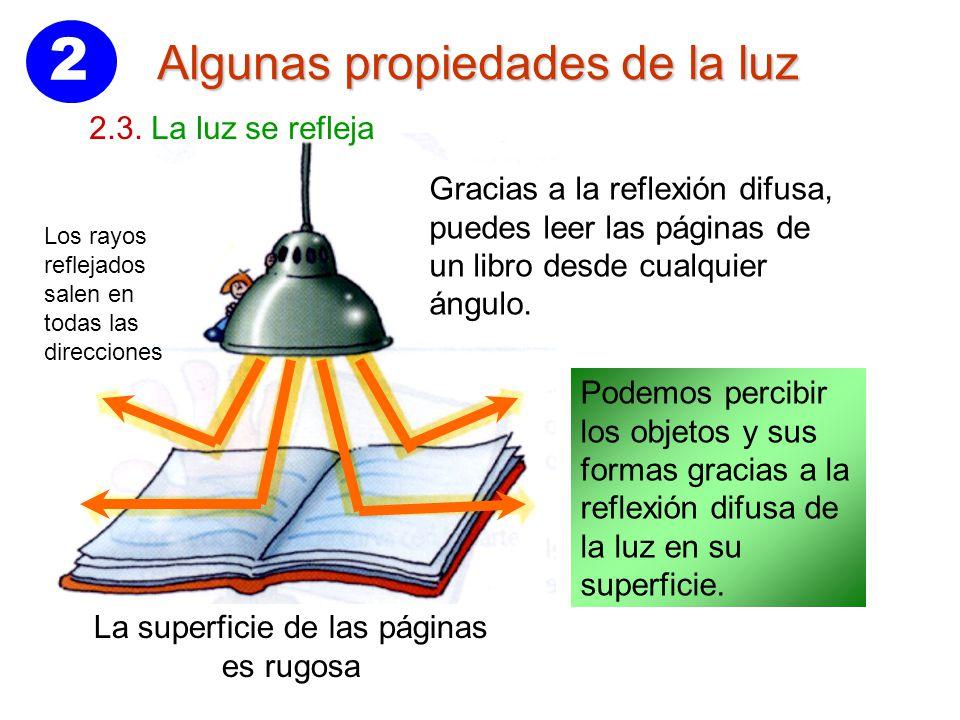 2237204110 2 Hay dos tipos de reflexión: Reflexión especular Reflexión difusa. 2 La  superficie ...