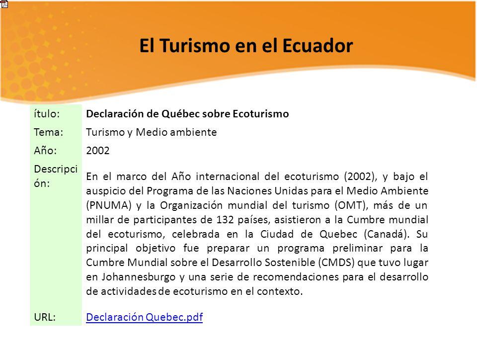 INTRODUCCIÓNA A LA ESTRUCTURA DEL MERCADO TURÍSTICO - ppt descargar