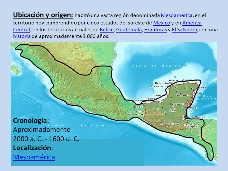 Cultura maya ppt video online descargar for Cultura maya ubicacion