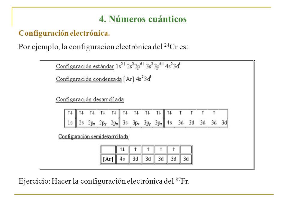 4 nmeros cunticos de acuerdo a la mecnica cuntica cada nmeros cunticos configuracin electrnica urtaz Image collections