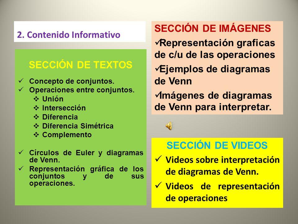 Operaciones y representacin grfica de conjuntos ppt descargar 3 seccin ccuart Images