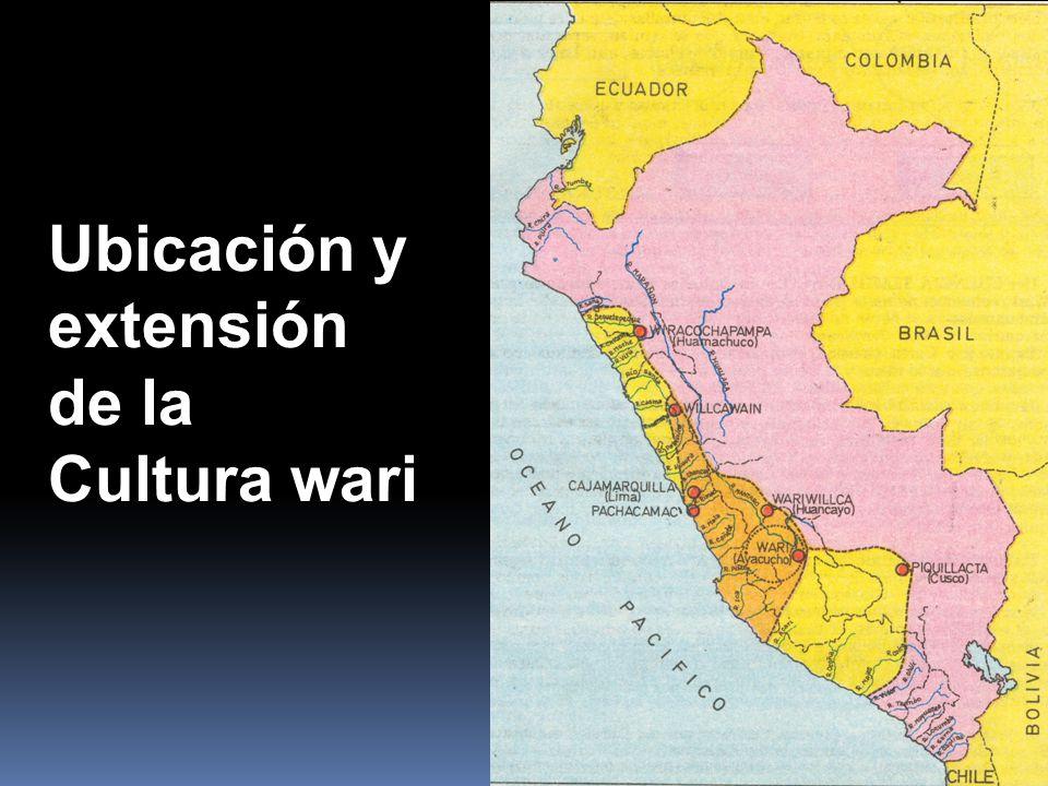 Resultado de imagem para la cultura wari localizacion