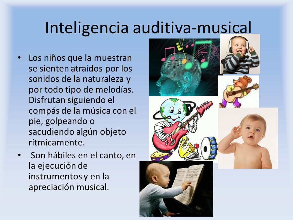 Inteligencia auditiva-musical