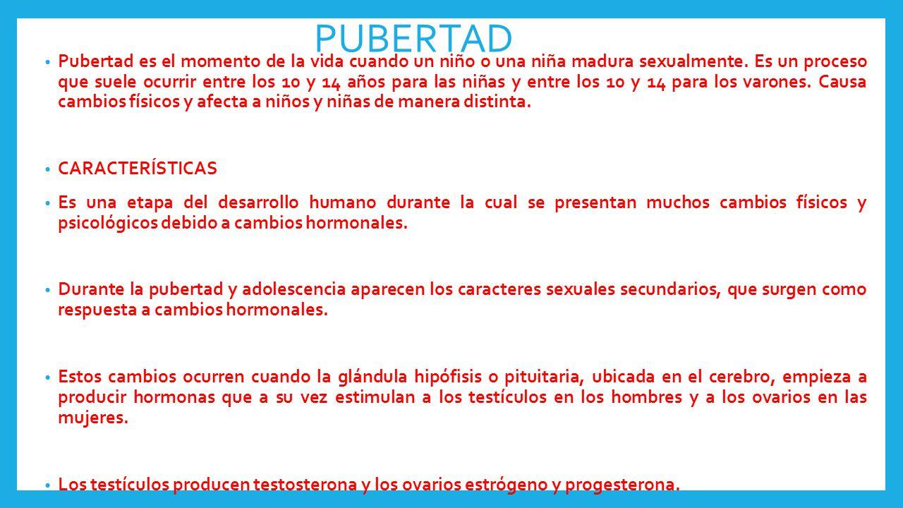 Caracteres sexuale primarios y secundarios ppt