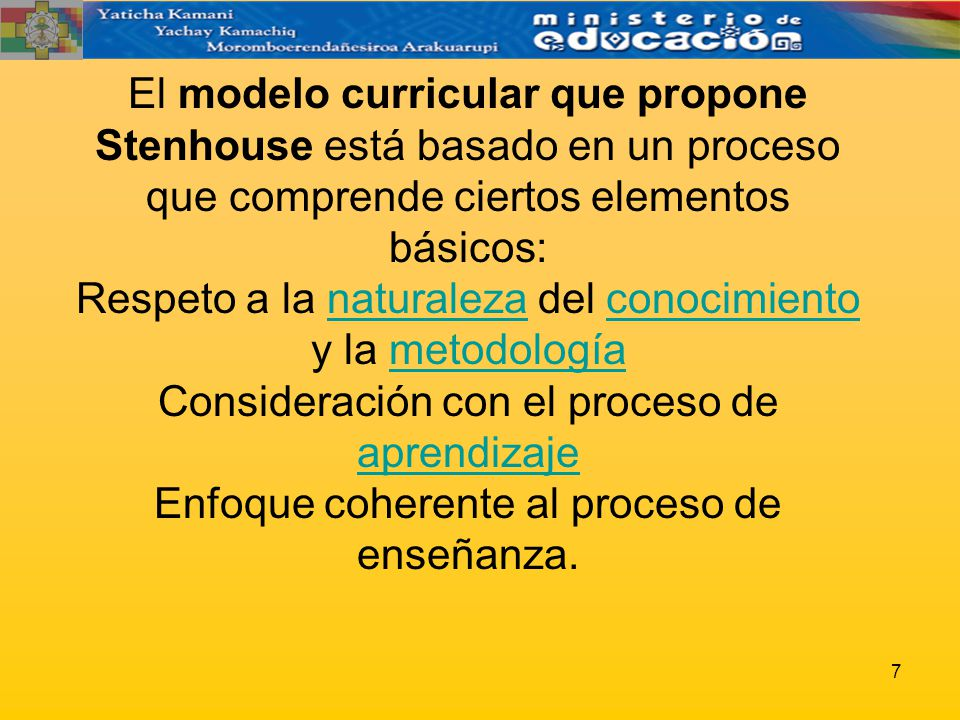 STENHOUSE MODELO CURRICULAR PDF DOWNLOAD