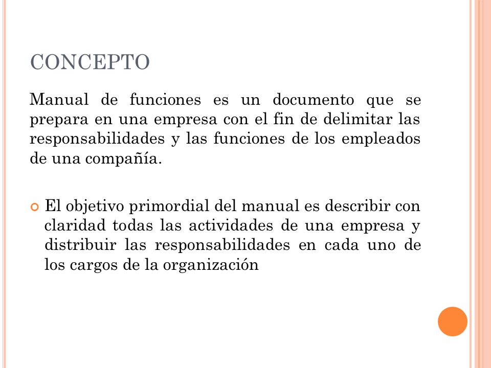 Definición de cartas y manuales de la organización, qué es, su.
