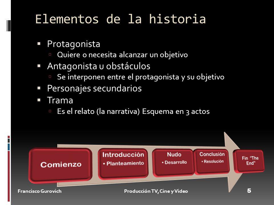 Produciendo cine y vIDEO Profesor Francisco Gurovich Año ppt video ...