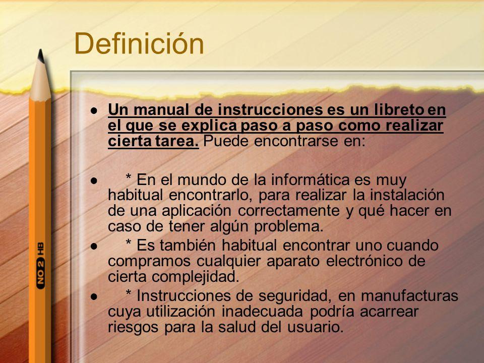 manual de instrucciones ppt descargar rh slideplayer es manual de usuario definicion wikipedia manual de usuario de un programa definicion