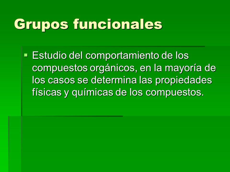 Presentacion De Los Grupos Funcionales: Grupos Funcionales Módulo II.