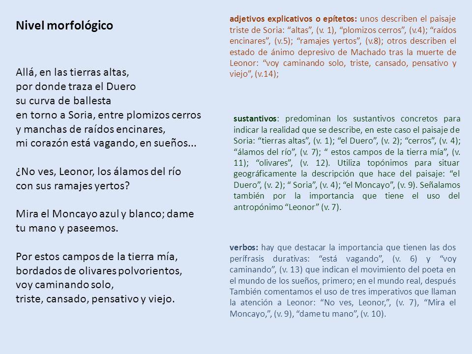 Comentario De Texto De Un Poema De Campos De Castilla De