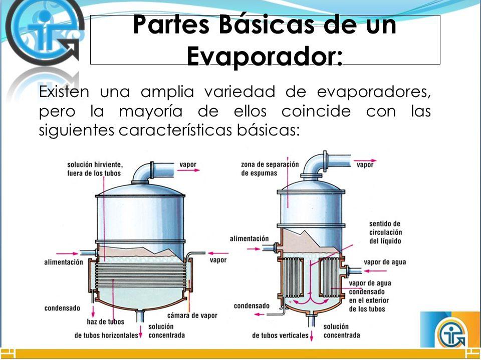 Tipos de evaporadores pdf