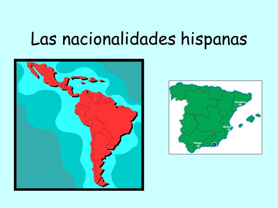 Las Nacionalidades Hispanas Ppt Descargar