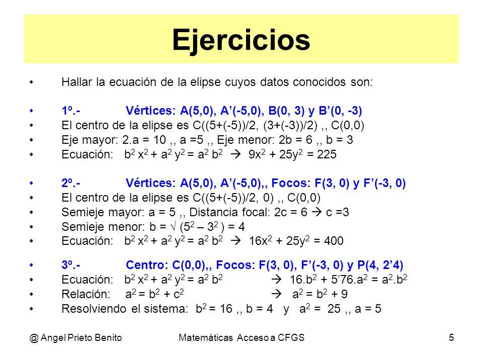 Matemáticas Acceso a CFGS - ppt descargar
