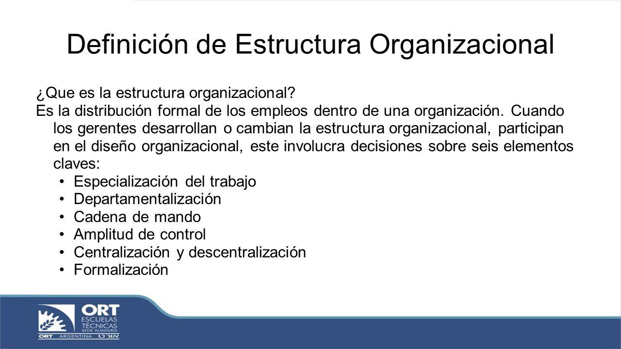 Estructura Y Diseño Organizacional Ppt Descargar