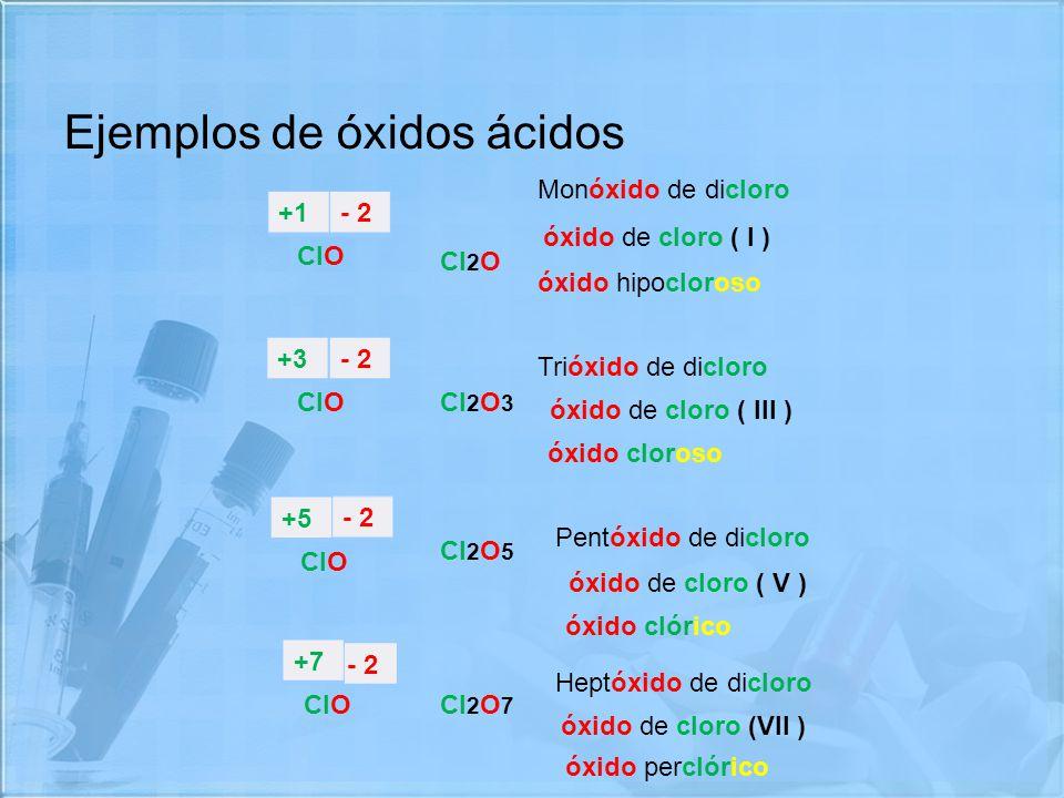 óxidos óxidos ácidos Ppt Video Online Descargar