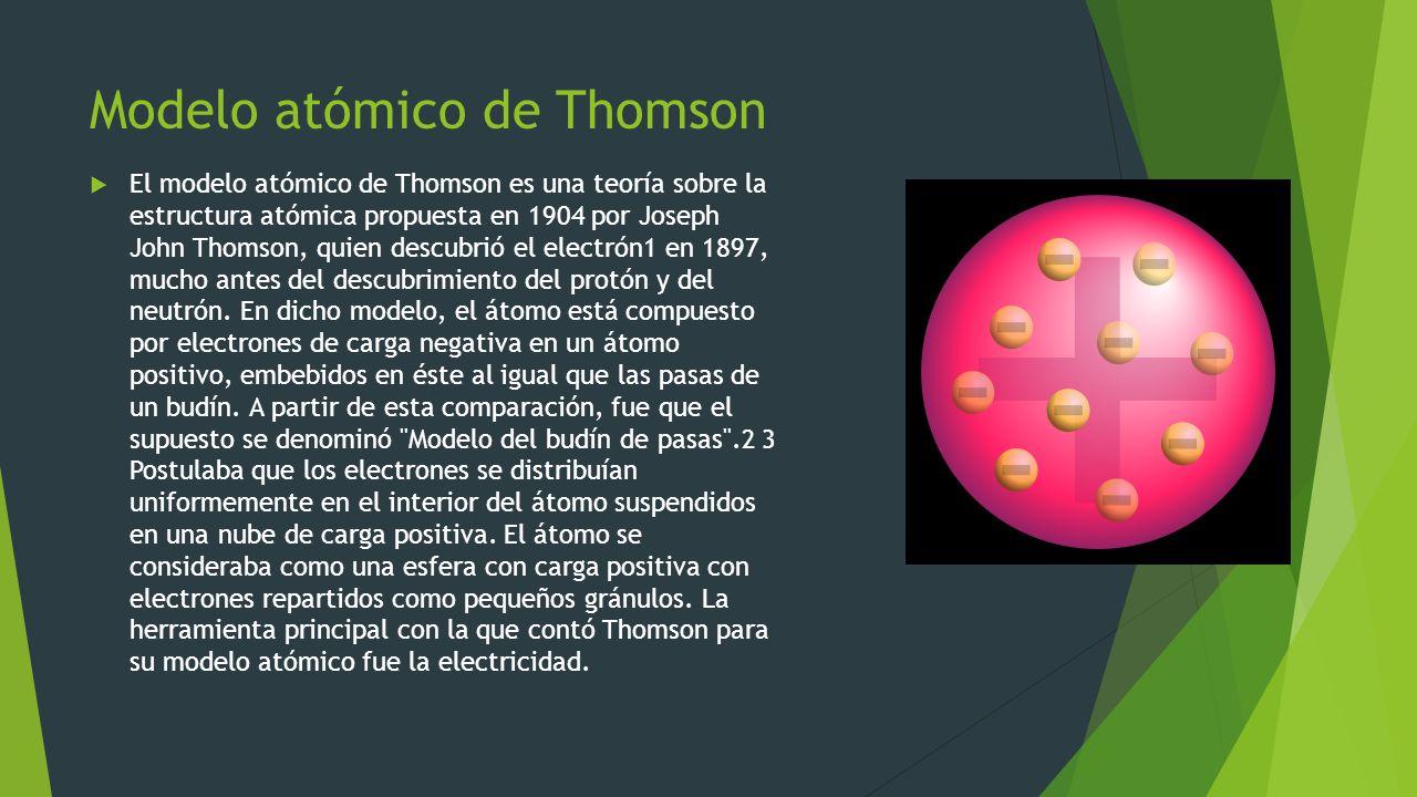 Fundamentos De Física Moderna Modelos Atómicos Ppt Descargar