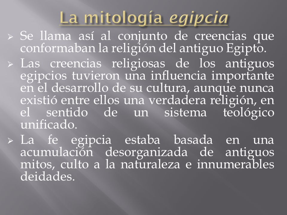 La Mitologia Egipcia Ppt Video Online Descargar - Uas-egipcias