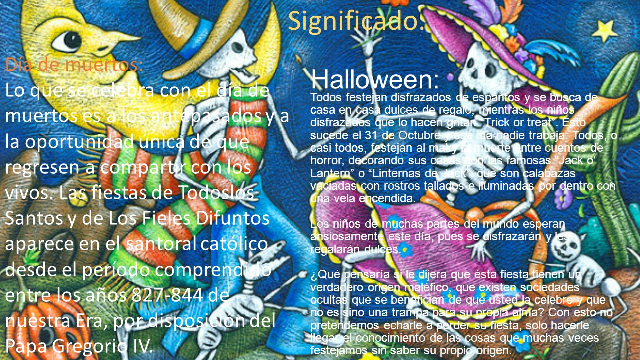 Halloween: Día de muertos: