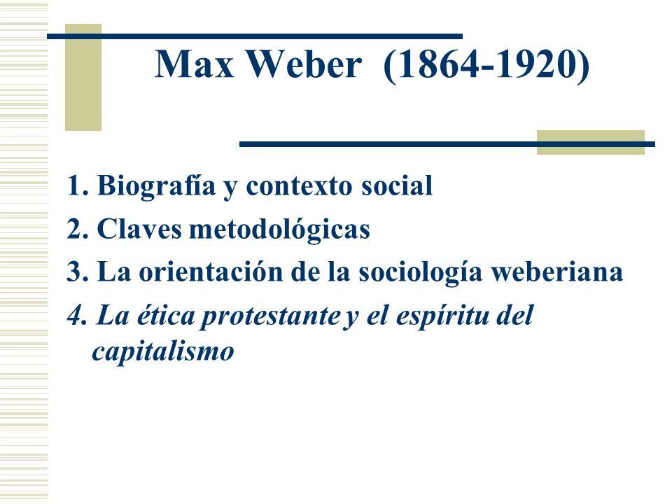 Max Weber 1 Biografía Y Contexto Social Ppt Descargar