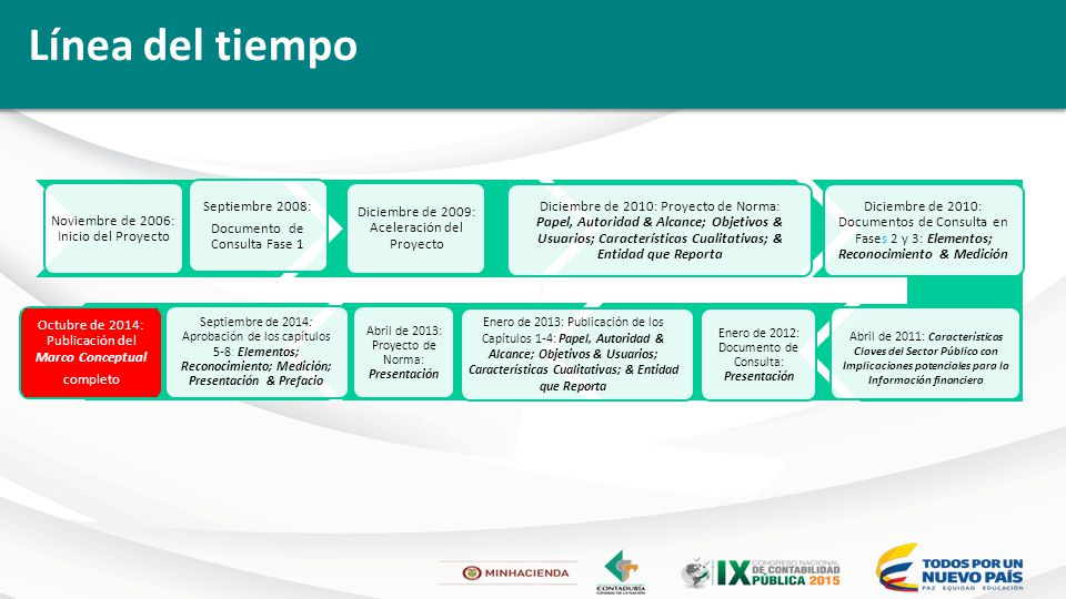 Marco Conceptual y su impacto en las NICSP Ron Salole, Ex ...