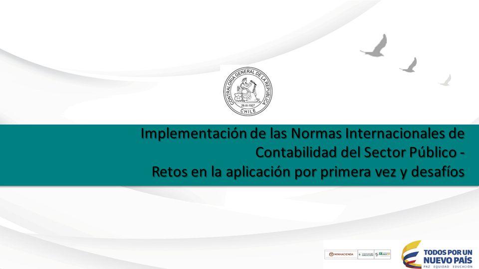 Implementación de las Normas Internacionales de Contabilidad del ...