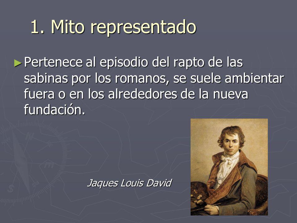 El Rapto De Las Sabinas Jaques Louis David S Ppt Descargar