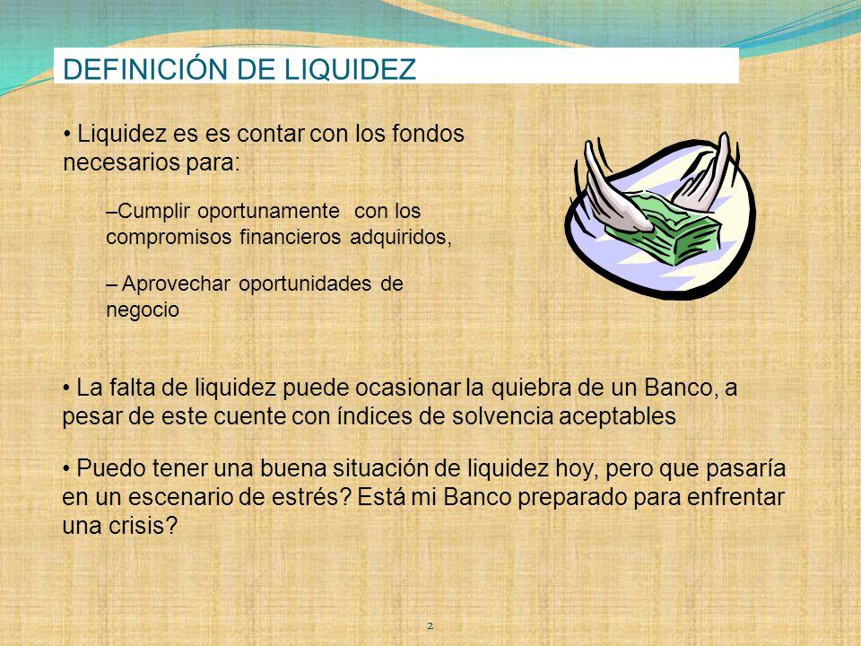 Definicion de fondo de liquidez