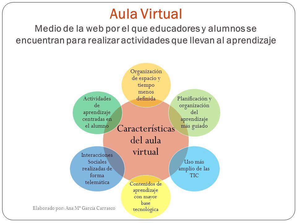 Aula virtual características