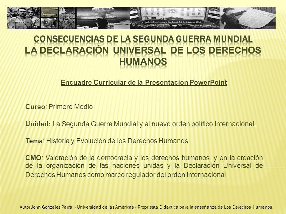 Encuadre Curricular de la Presentación PowerPoint - ppt descargar
