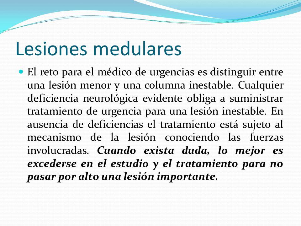 LESIONES MEDULARES DR. RICARDO ARTURO GUERRERO UREÑA MÉDICO-CIRUJANO ...