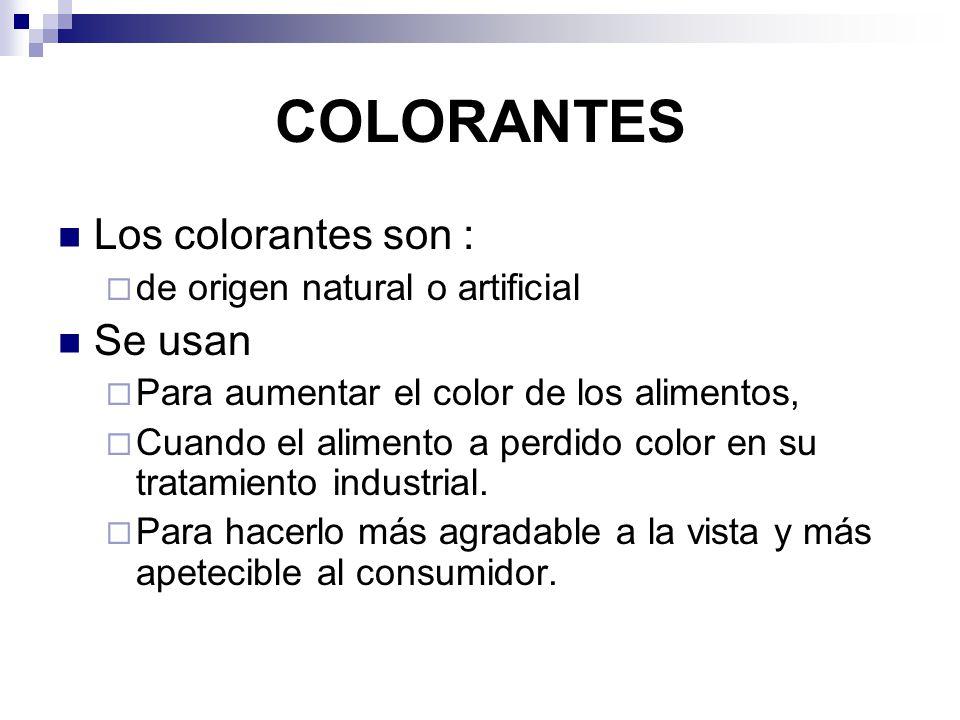 TOXICOLOGIA DE LOS COLORANTES ALIMENTARIOS - ppt video online descargar